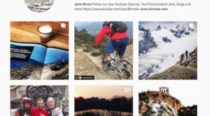 Testing Snowboards, Birnstar Instagram